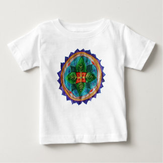 T-shirt positif du Jersey d'amende de bébé de