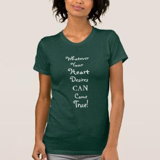 T-shirt positif d'une manière encourageante de