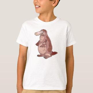 T-shirt position d'ornithorynque de duckbill