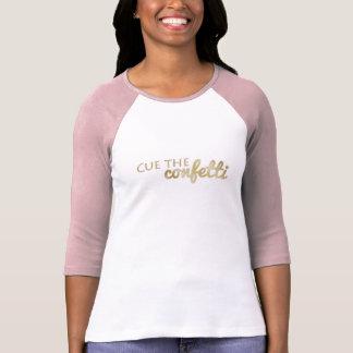 T-shirt Positionnez les confettis