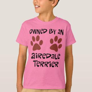 T-shirt Possédé par Airedale Terrier