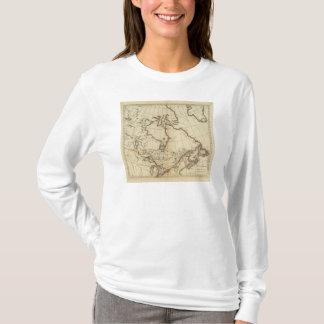 T-shirt Possessions britanniques en Amérique du Nord