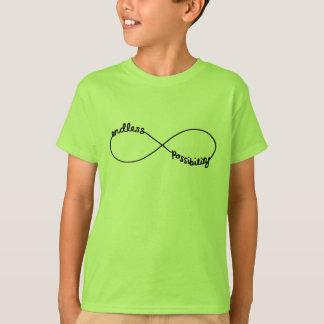 T-shirt Possibilité sans fin - symbole d'infini
