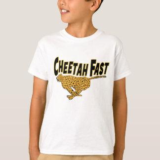 T-shirt Posters de animaux sauvages rapides de guépard