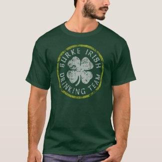 T-shirt potable irlandais d'équipe de Burke