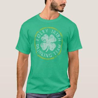 T-shirt potable irlandais d'équipe de Foley