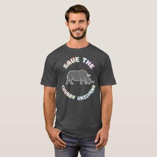 T-shirt potelé drôle de licorne