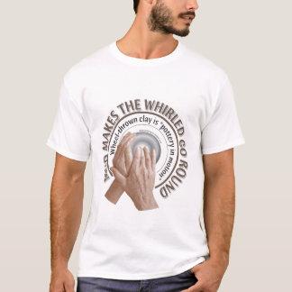 T-shirt poterie Roue-jetée