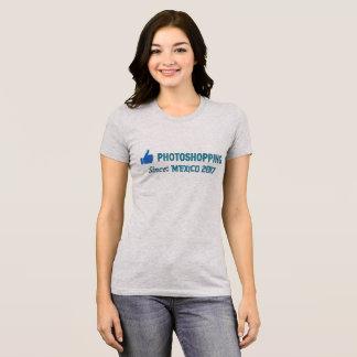 T-shirt Pouces jusqu'à Photoshopping depuis : Le Mexique