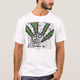 T-shirt Pouces pour la musique
