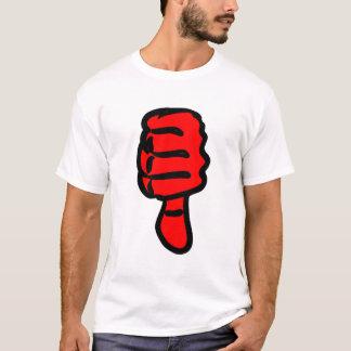 T-shirt Pouces rouges vers le bas