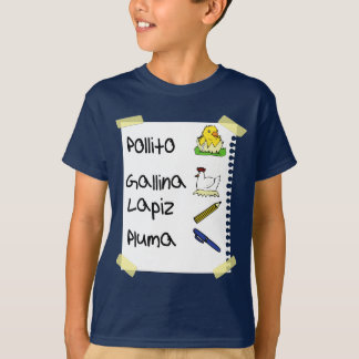 T-shirt poulet de pollito
