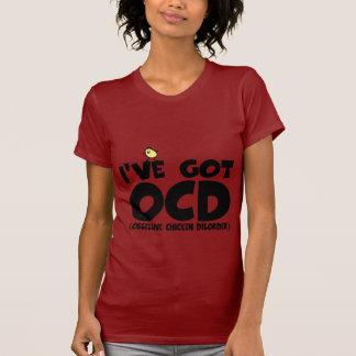 T-shirt Poulet drôle d'OCD