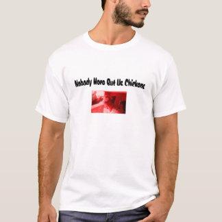 T-shirt poulets, personne ici mais nous poulets