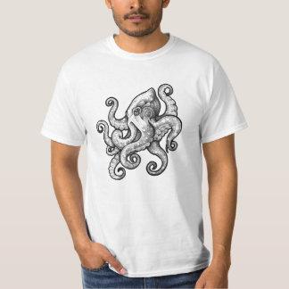 T-shirt Poulpe (conception de tatouage)