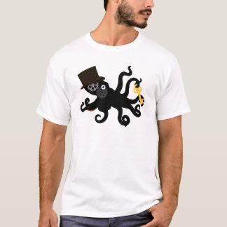 T-shirt Poulpe de Steampunk