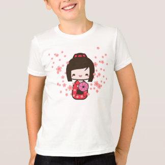 T-shirt Poupée de Kokeshi