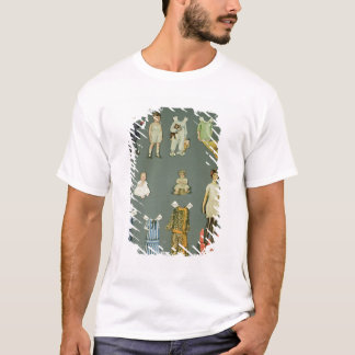 T-shirt Poupée et vêtements coupés, les années 1930