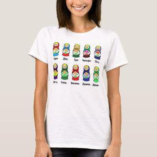 T-shirt Poupée russe d'emboîtement (Matryoshka)