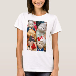 T-shirt Poupées chinoises de porcelaine
