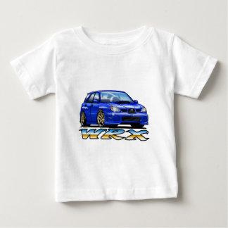 T-shirt Pour Bébé 06_09_Wagon_Blue