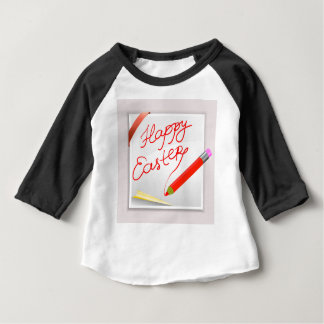 T-shirt Pour Bébé 150Happy Easter_rasterized