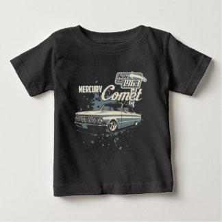 T-shirt Pour Bébé 1963 comète de Mercury - cru