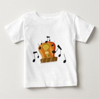 T-shirt Pour Bébé 20 août, jour par radio national