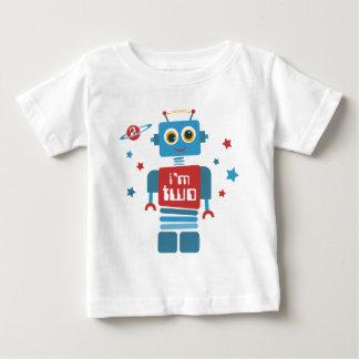 T-shirt Pour Bébé 2ème anniversaire de robot