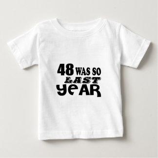 T-shirt Pour Bébé 48 étaient ainsi ainsi l'année dernière les
