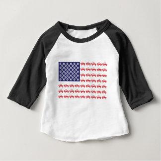 T-shirt Pour Bébé 4-Wheel-Flag-Final