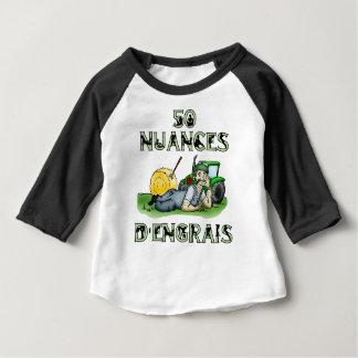 T-shirt Pour Bébé 50 Nuances d'engrais - Jeux de mots - Yann Le Barz