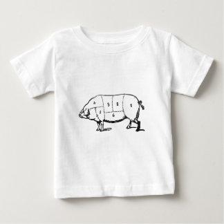 T-shirt Pour Bébé 6 degrés de lard