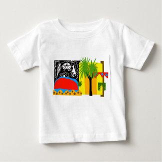 T-shirt Pour Bébé À l'intérieur/Uluru - t'shirt de bébé