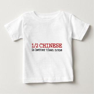 T-shirt Pour Bébé À moitié chinois