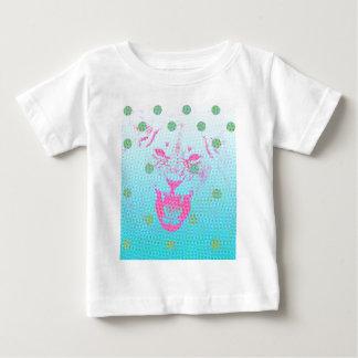 T-shirt Pour Bébé À petits pois de Pixelated de tigre