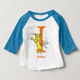 T-shirt Pour Bébé ABC de Dr. Seuss's : Lettre I - L'orange  