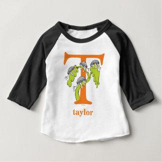 T-shirt Pour Bébé ABC de Dr. Seuss's : Lettre T - L'orange  
