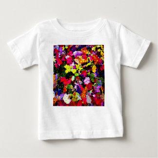 T-shirt Pour Bébé Abrégé sur tombé feuille d'automne