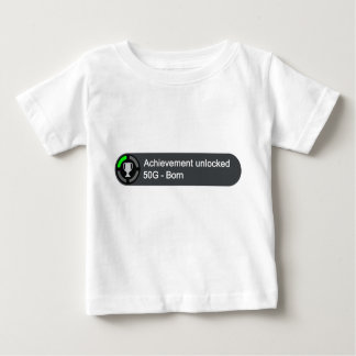 T-shirt Pour Bébé Accomplissement débloqué - soutenu