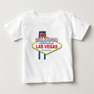 T-shirt Pour Bébé Accueil-à-Las-Vegas