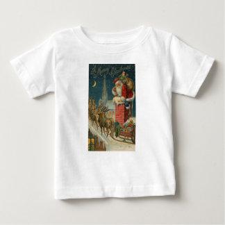 T-shirt Pour Bébé Affiche 1906 clous de Père Noël de cru original