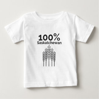 T-shirt Pour Bébé Agriculteur de Saskatchewan