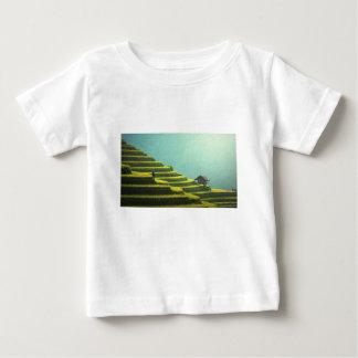 T-shirt Pour Bébé agriculture Asie verte