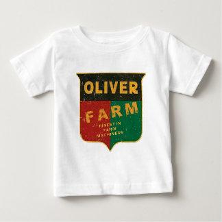 T-shirt Pour Bébé Agriculture d'Oliver