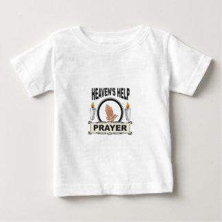 T-shirt Pour Bébé aide de ciel de bougie