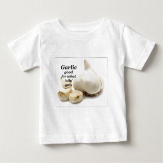 T-shirt Pour Bébé Ail bon pour ce qui vous indispose !