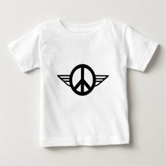 T-shirt Pour Bébé Ailes de paix