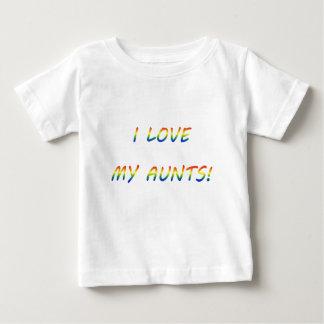 T-shirt Pour Bébé Aimez mes tantes