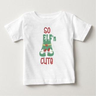 T-shirt Pour Bébé Ainsi Noël drôle mignon d'ELF'n